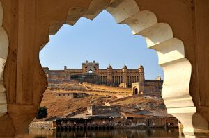 amber fort dating 16th century near jaipur rajasthan