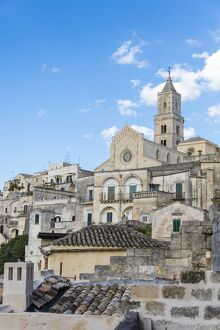 ancient matera cathedral historical center called