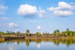 Angkor Wat, UNESCO World Heritage Site, Siem Reap Province, Cambodia, Indochina, Southeast Asia