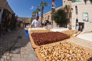 Arab market, Akko (Acre), Israel, Middle East