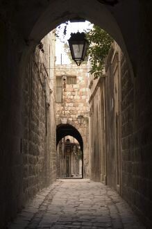 Arched streets of old town Al-Jdeida