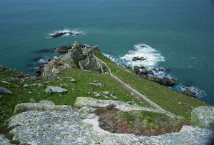 Battery Point, Lundy Island, Devon, England, United Kingdom, Europe