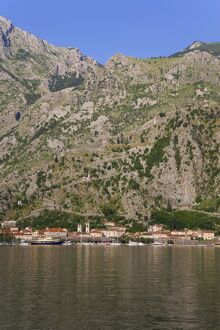 Bay of Kotorska and the Lovcen mountain range