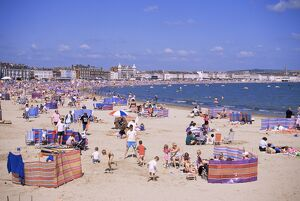 The beach, Weymouth, Dorset, England, United Kingdom, Europe