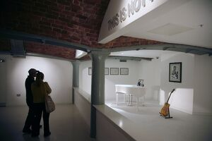 The Beatles Story museum at Albert Dock, Liverpool, Merseyside, England