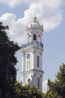 Bell tower, Zona Colonial (Colonial District), UNESCO World Heritage Site