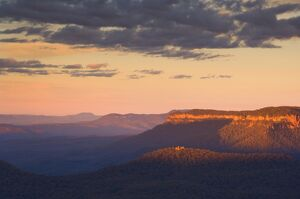 The Blue Mountains, UNESCO World Heritage Site, New South Wales, Australia, Pacific