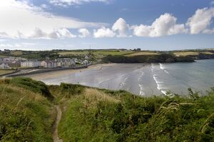 Broad Haven on the Pembrokeshire Coast Path