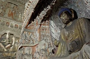 Buddhist caves at Yungang dating from the 5th and 6th centuries, UNESCO World Heritage Site