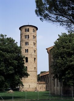 Campanile beside Basilica of Sant Apollinare in Classe