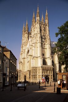 Canterbury Cathedral, UNESCO World Heritage Site, Kent, England, United Kingdom, Europe