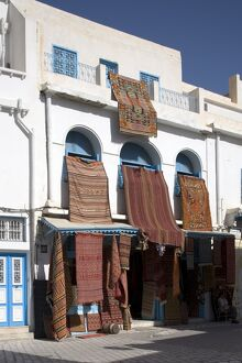 Carpet shop in the Medina