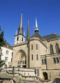 Cathedral, Luxembourg Town