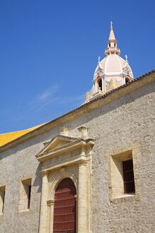 The Cathedral, Old Walled City District, Cartagena City, Bolivar State