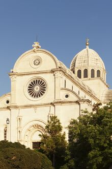 Cathedral of St. Jacob (Cathedral of St. James), UNESCO World Heritage Site, Sibenik, Dalmatia, Croatia, Europe