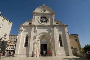 The Cathedral of St. James, Sibenik, UNESCO World Heritage Site, Croatia, Europe