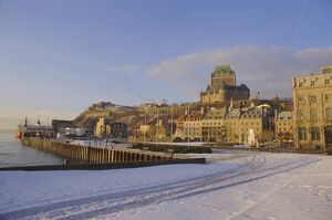 Chateau Frontenac, Old Quebec City, Quebec, Canada