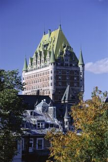 Chateau Frontenac, Quebec City, Quebec Province, Canada, North America