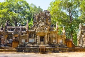 Chau Say Tevoda Temple ruins, Angkor Archaeological Park, UNESCO World Heritage Site