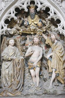 Christ's Baptism, Amiens Cathedral, UNESCO World Heritage Site, Amiens