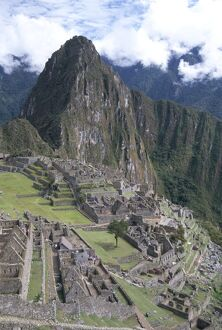 Classic view from Funerary Rock of Inca town site