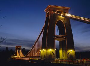 Clifton Suspension Bridge, Bristol, Avon, England, UK, Europe