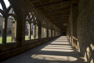 Cloisters, Durham Cathedral, UNESCO World Heritage Site, Durham, County Durham