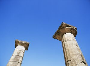 Columns of the Temple of Zeus