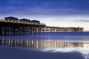 Crystal Pier on Pacific Beach, San Diego, California, United States of America