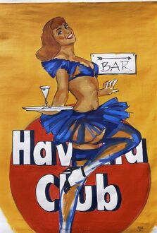 Cuban paintings, Havana, Cuba, West Indies, Central America