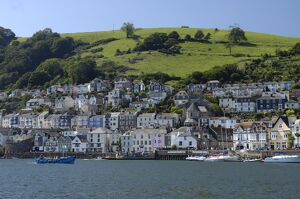 dartmouth harbour south devon england united