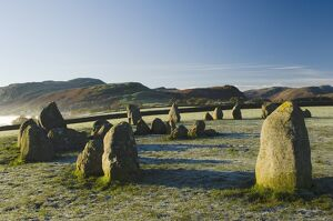 Dawn, Castlerigg Stone Circle, Keswick, Lake District, Cumbria, England