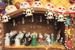 Day of the Dead Folk Art, Oaxaca City, Oaxaca, Mexico, North America