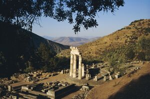 Delphi, Sanctuary of Athena
