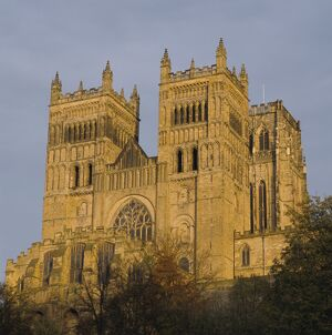 Durham Cathedral, dating from Norman times, UNESCO World Heritage Site