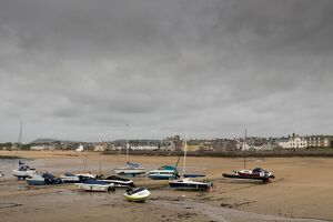 Elie at low tide, Fife Coast, Scotland, United Kingdom, Europe