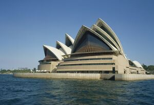 Exterior of the Sydney Opera House, Sydney, New South Wales, Australia, Pacific