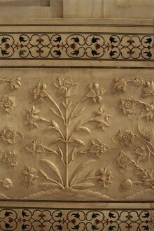 Detail of floral frieze