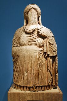 Funerary statue from Cyrene
