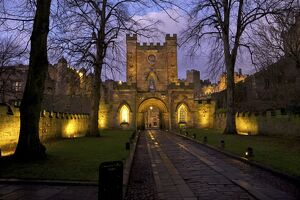 Gatehouse, Durham Castle, University College, Durham, England, United Kingdom, Europe