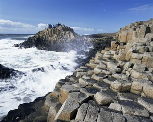 Giant's Causeway on the Causeway coast