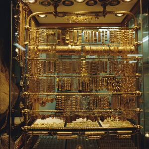 Gold stall