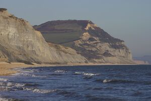 Golden Cap, Jurassic Coast, UNESCO World Heritage Site, Dorset, England