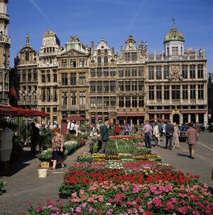 Grand Place, UNESCO World Heritage Site, Brussels, Belgium, Europe