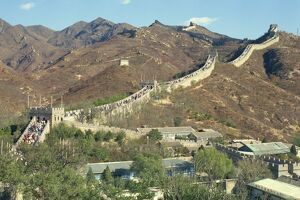 The Great Wall of China, UNESCO World Heritage Site, near Beijing, China, Asia