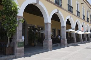 Harry's Bar, Santiago de Queretaro (Queretaro), UNESCO World Heritage Site