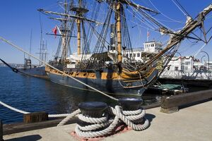 HMS Surprise at the Maritime Museum, Embarcadero, San Diego, California