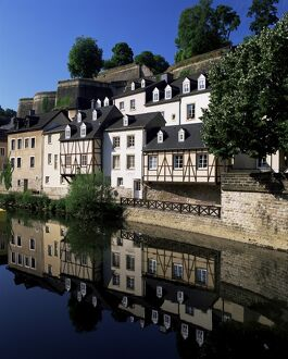 Houses along the river in the Old Town