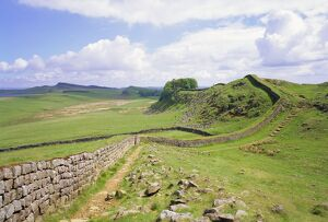Housesteads, Hadrian's Wall, Northumberland, England, UK