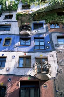 The Hundertwasser House, Vienna, Austria, Europe